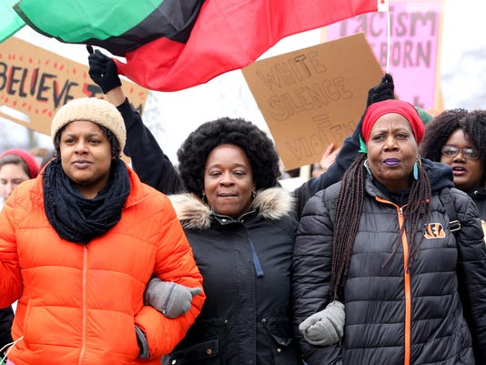 2 secondary Black Women's March