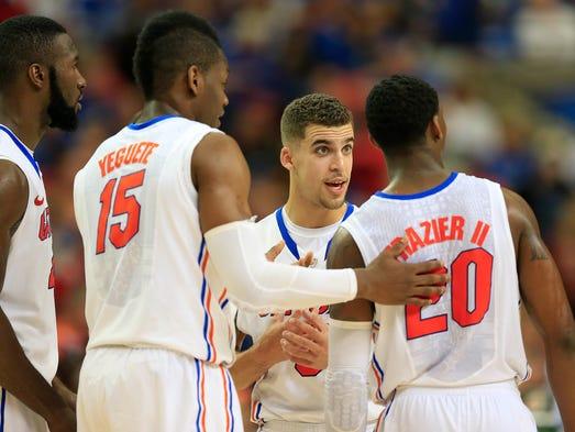 Florida (32-2): Defeated Kentucky, 61-60, to win the SEC tournament.
