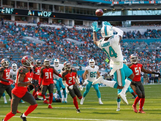 Dolphins wide receiver Jarvis Landry doesn't have a