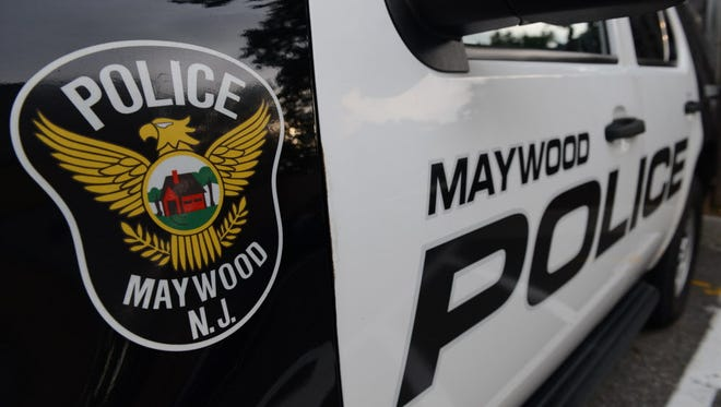 Maywood Police Department vehicle.