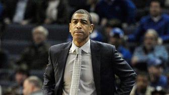 Connecticut Huskies head coach Kevin Ollie.