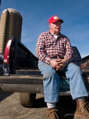 """Farmer Fred """"Fritz"""" Wainwright Jr. owns the Florence land that had been proposed for a zoning change by the county to allow massive warehousing. County agencies and Florence have pulled their support of the plan."""