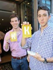 Jeffrey Nadel, left, and UCF alumnus Craig Bolz are