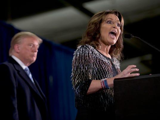 Donald Trump, Sarah Palin