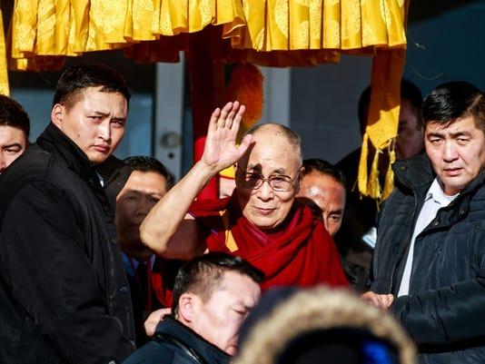 MONGOLIA-RELIGION-DIPLOMACY-POLITICS-CHINA