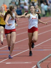 Miranda Wammes is part of two relay records for SJCC's track program.