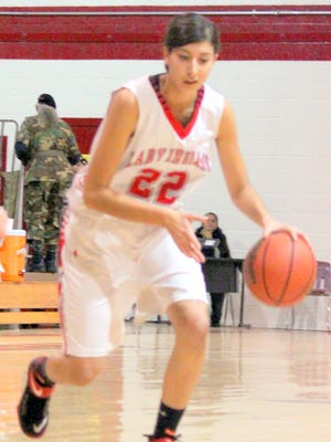 Cobre's Lexus Guck posted 21 points against Lordsburg on Thursday night to lead all scorers.