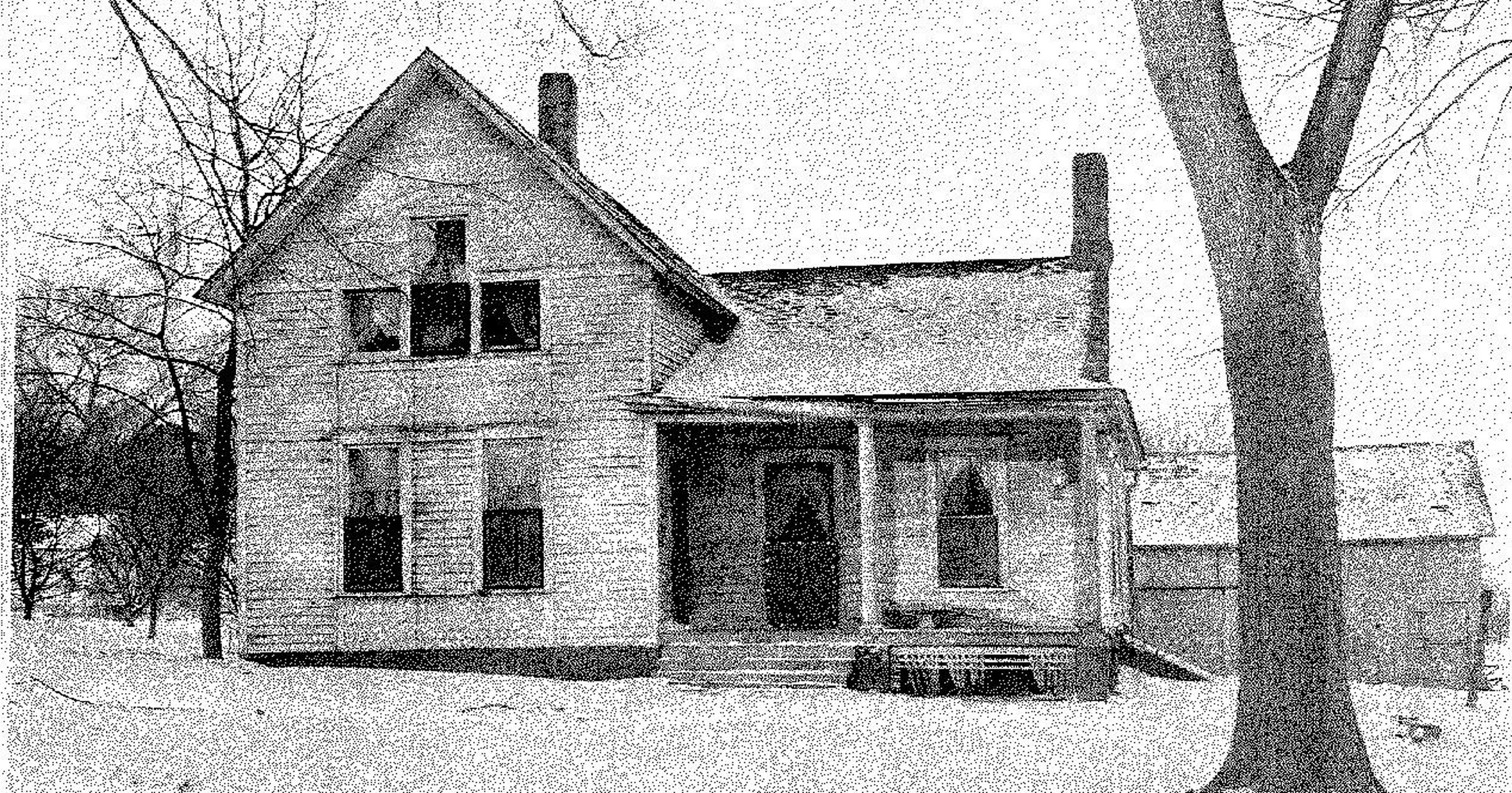 This photo from inside the Villisca Axe Murder House is