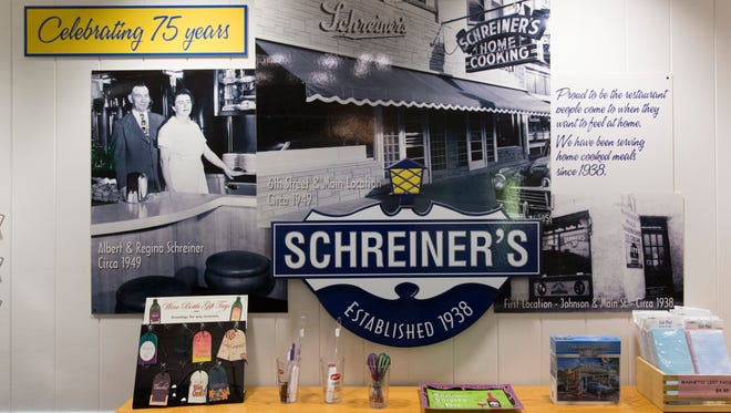 Schreiner's Restaurant  as located at the corner of Sixth and Main streets in 1949.  the iconic Fond du Lac landmark announced Wednesday it was closing its doors after 82 years in business.