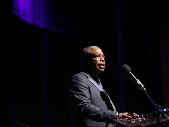 LeVar Burton acts as emcee for the MLK50 Luminary Awards