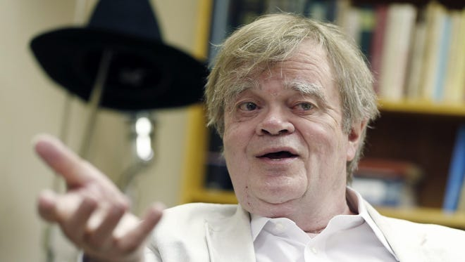 "Garrison Keillor, creator and host of ""A Prairie Home Companion,"" pictured before his retirement in a photo from 2015."