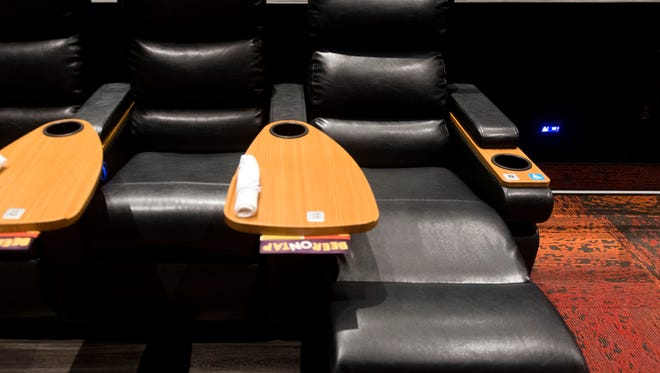 Every seat at a Cinebarre theater is a leather recliner.
