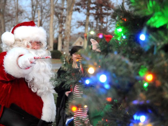 Seventh annual Saw Mill Park Tree Lighting will be