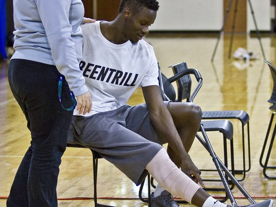 FGCU forward Demetris Morant will be out several months after undergoing surgery last week for a stress fracture in his right shin.