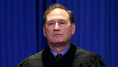 Supreme Court Justice Samuel Alito appeared at an event