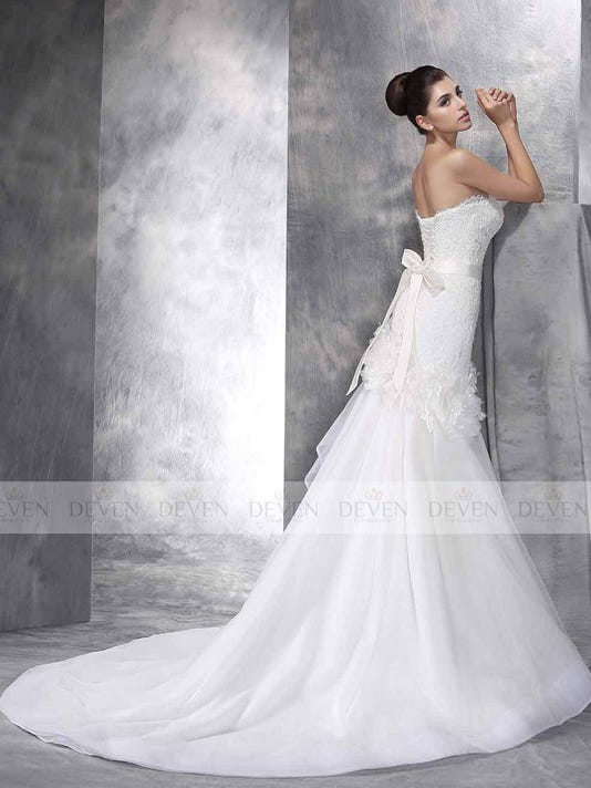 The Crystal Wedding Gown