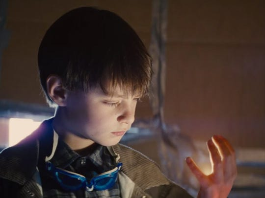 The powers of Alton (Jaeden Lieberher) are best discovered
