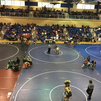 Franklin County wrestlers have solid showing on first day of Trojan Wars tournament