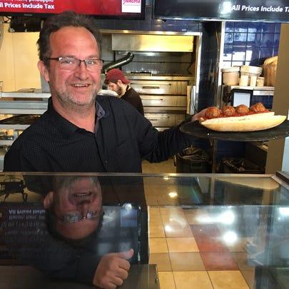 Amir Jusufagic, co-owner of Piesanos in Burlington,