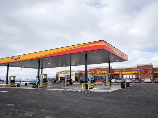 Love's Travel Stop on Capac Road in Capac is scheduled