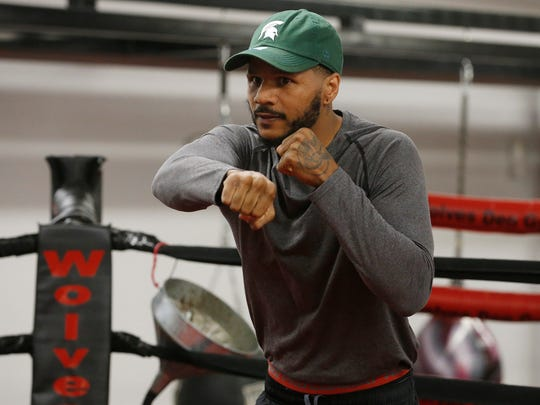 Former 168-pound World Champion Anthony Dirrell takes