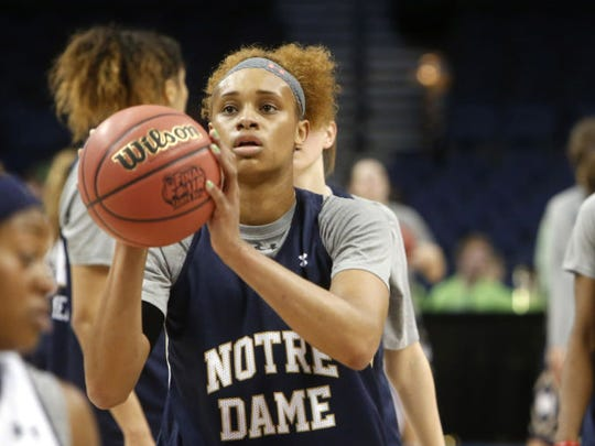Brianna Turner, the ACC preseason player of the year.