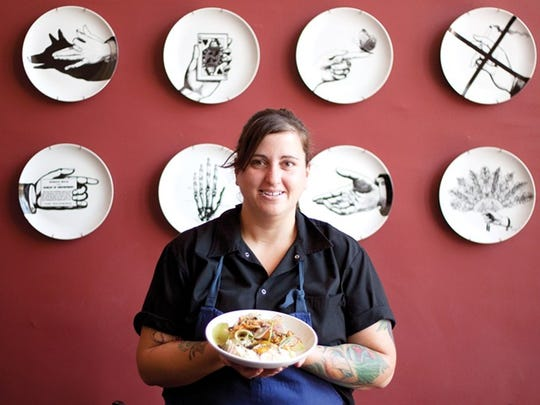 Sacha Levine was co-chef of Ocotillo Restaurant in Phoenix.