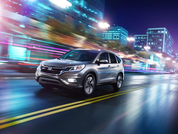 2015 Honda CR-V, a compact crossover, is best-selling