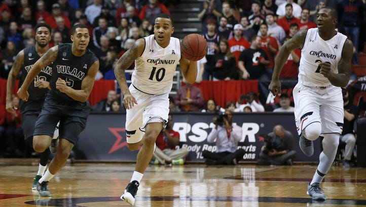 Paul Daugherty says he knows Bearcats point guard Troy Caupain can play fast, evidenced by his 25 points and four assists in UC's 76-72 win over Memphis on Jan. 21.