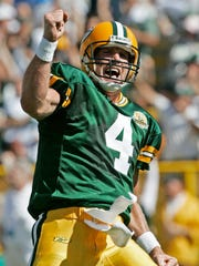 Brett Favre's history against the Chicago Bears made it the perfect matchup for the ceremony.