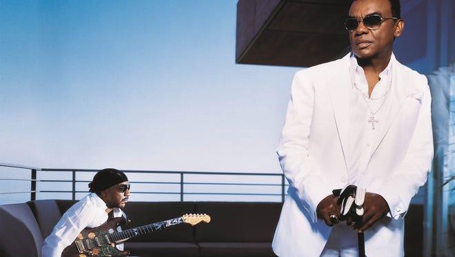 The Isley Brothers will perform Feb. 16 at the Chumash Casino Resort in Santa Ynez.
