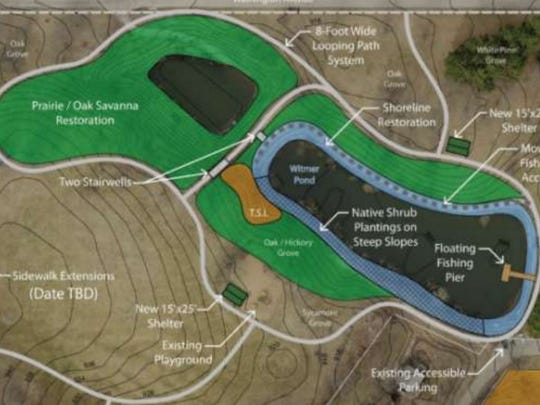 Changes proposed to Witmer Park in Des Moines.