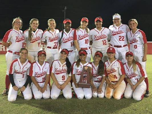 North Fort Myers High softball
