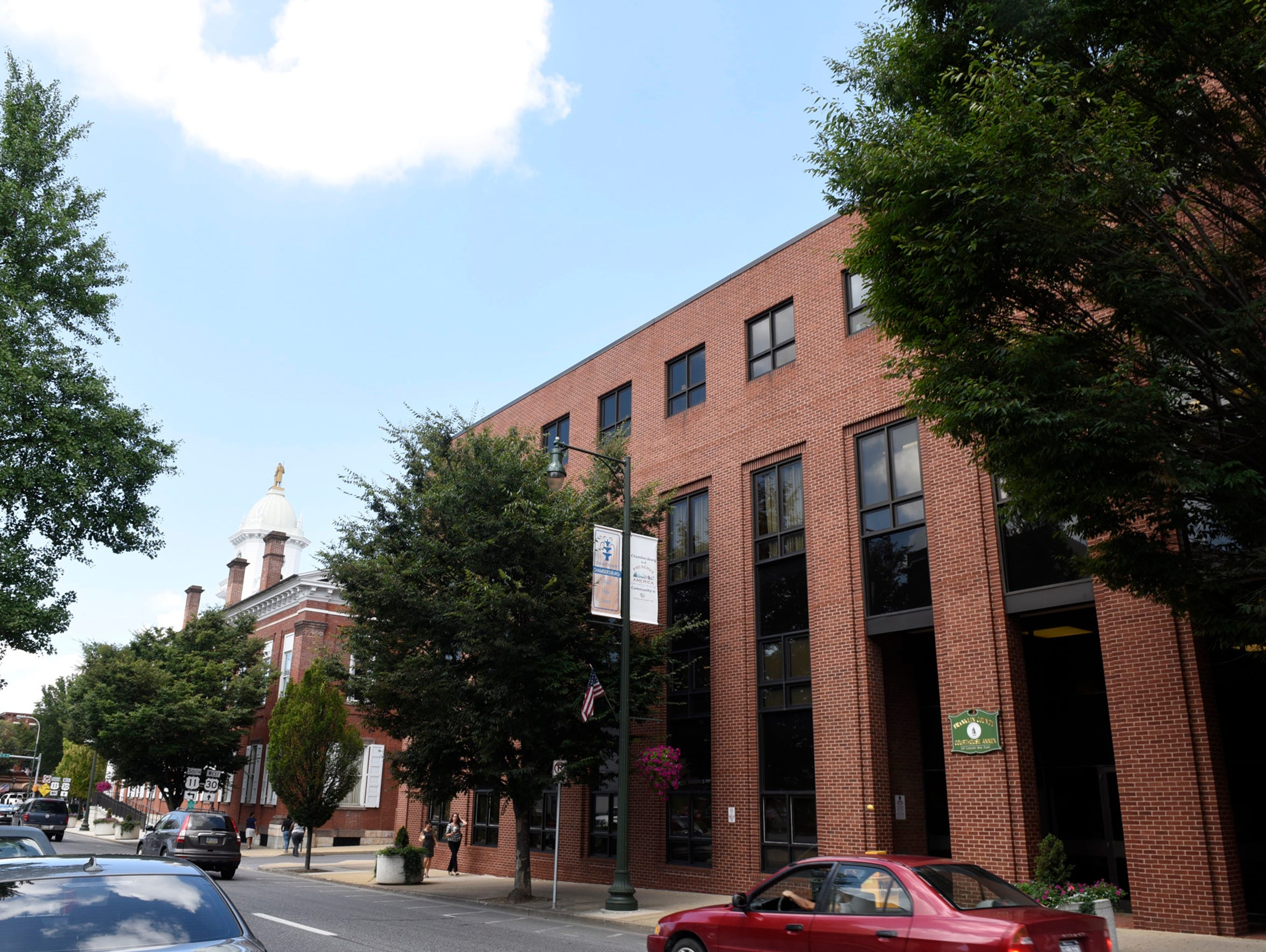 The Franklin County Courthouse Annex is located to