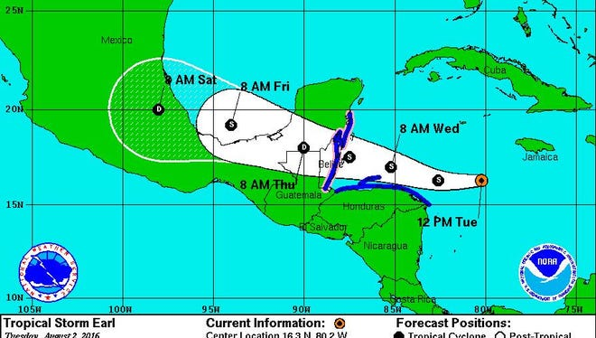 Tropical Storm Earl will miss the Mississippi Coast, but officials say hurricane season is about to pick up.