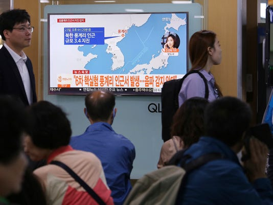 AP SOUTH KOREA NORTH KOREA EARTHQUAKE I KOR