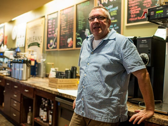Peter Martin owns Johnston Street Java.