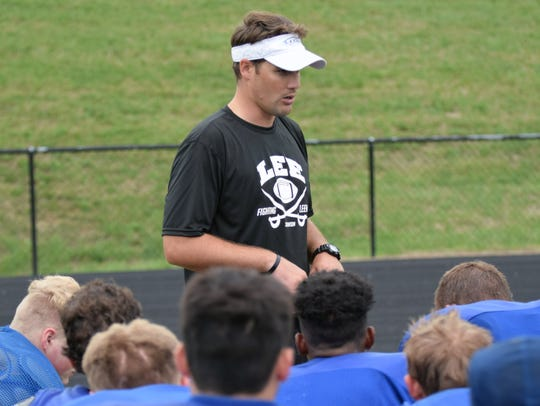 Scott Girolmo is getting ready for his fourth season as Robert E. Lee's head football coach.