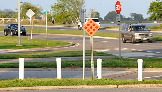 The city of Pensacola is right on target with the plan to reduce the speed and volume of traffic on Bayfront Parkway.