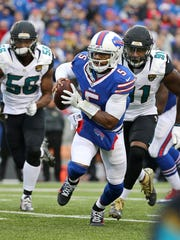 Bills quarterback Tyrod Taylor has thrown only 10 interceptions in his 25 career NFL starts.