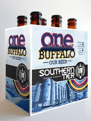 Pegula Sports and Entertainment teamed up with Southern Tier Brewing Co. to produce OneBuffalo beer.