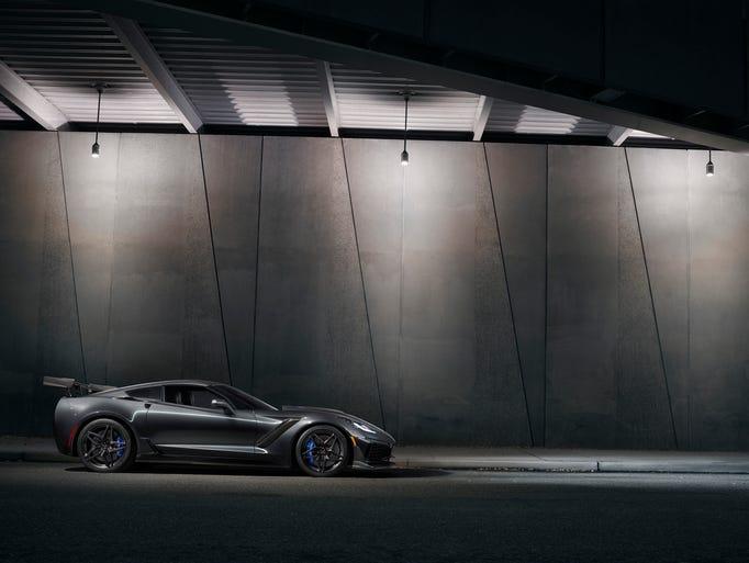 The 2019 Corvette ZR1.