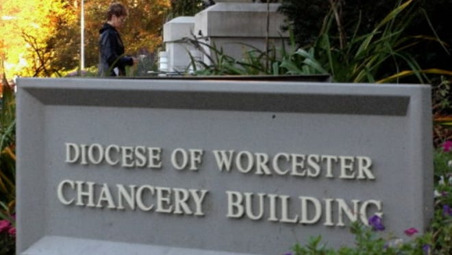 The Chancery building of the Roman Catholic Diocese of Worcester,  49 Elm St., Worcester.