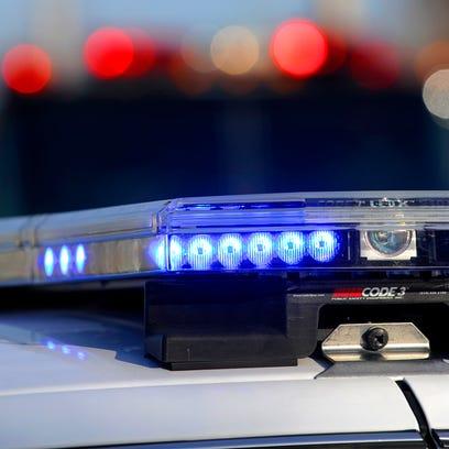 Police squad light rack