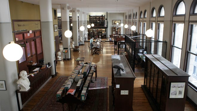 The Mercantile Library is on the 11th floor of 414 Walnut St., Downtown. It opened 179 years ago.