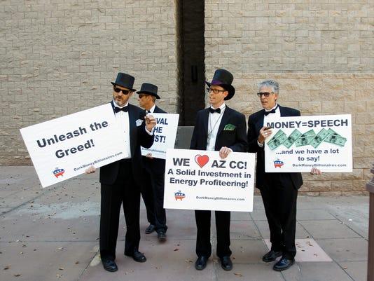 Sierra Club protests proposed APS rate hike