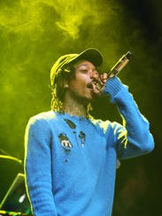 Snoop Dogg and Wiz Khalifa will perform at 7 p.m. Aug.