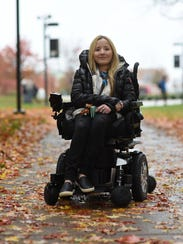 Ali McManus,19, says music kept her feeling positive