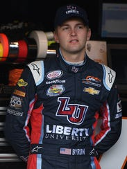 Xfinity Series rookie William Byron leads the division's