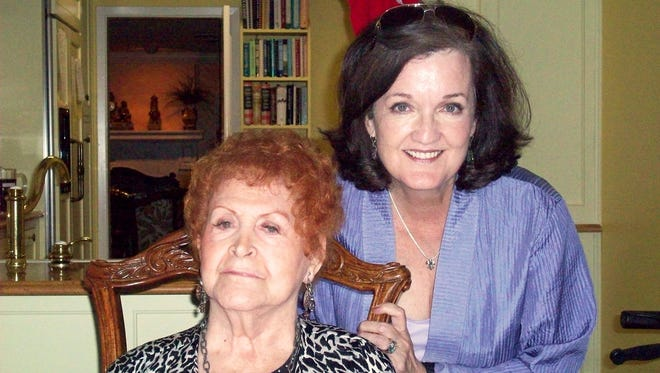 Pam Johnson, right, wrote the book 'Justice for Ella,' as told to her by Jewell McMahan, left, Ella Gaston's best friend.